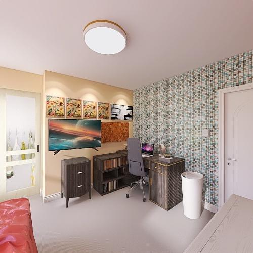 Bedroom 2021 Interior Design Render