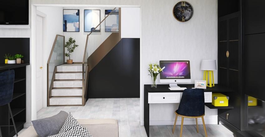Дом 1 этаж Interior Design Render