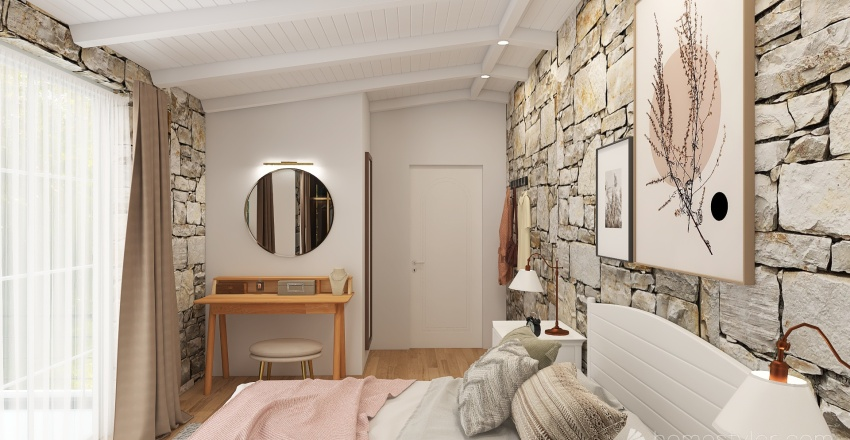 Maison rustique Interior Design Render