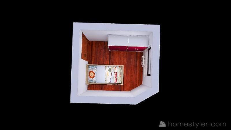 Cuarto Adrian Interior Design Render