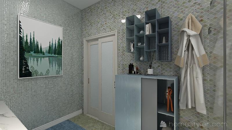 2-этажная-квартира Interior Design Render