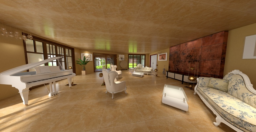HOME SHIGOTO Giaro Cavalli Interior Design Render
