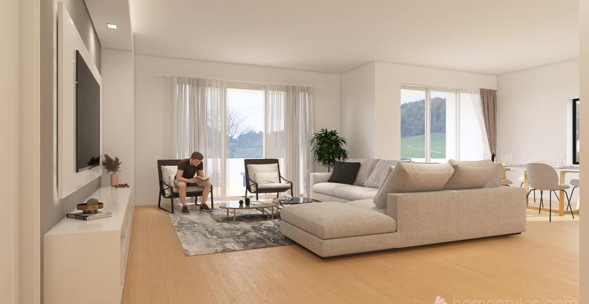 open space project Interior Design Render