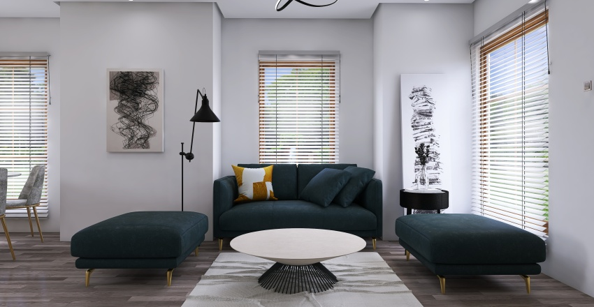 Small House Design Interior Design Render