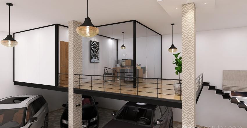 Car Gallery 2 Interior Design Render