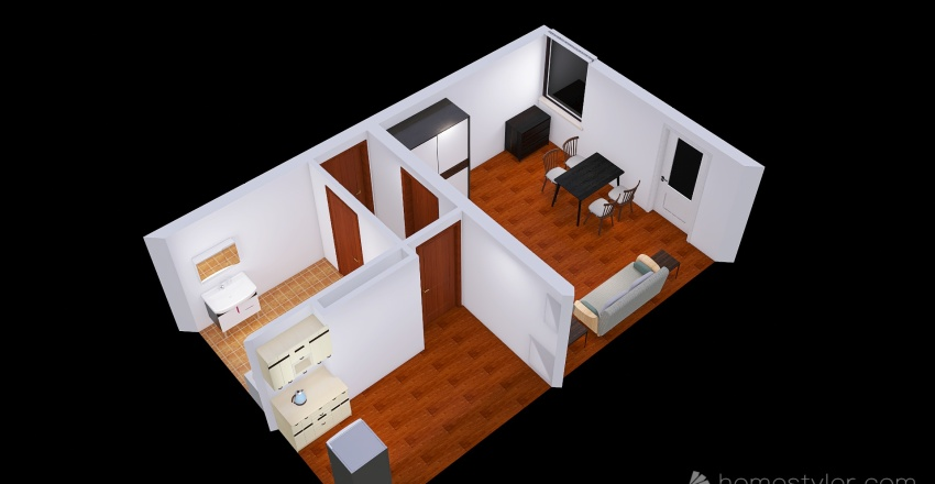 Tymek Residence Interior Design Render
