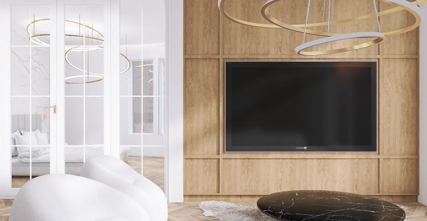 THE MID CENTURY APARTMENT Interior Design Render