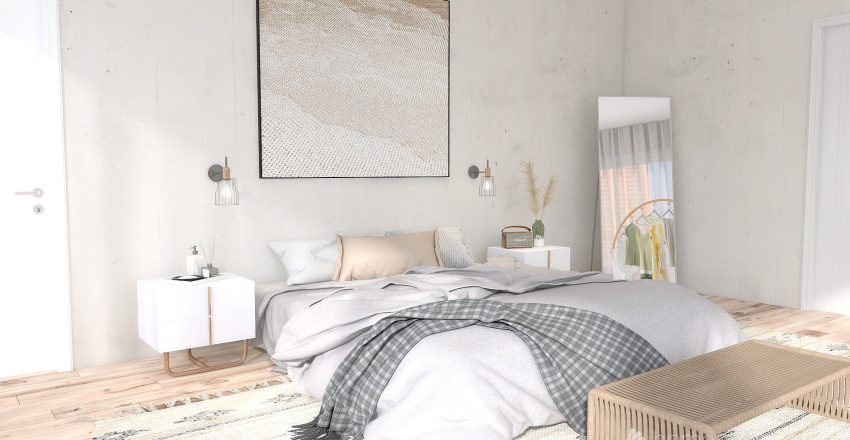 Waking up in the city Interior Design Render