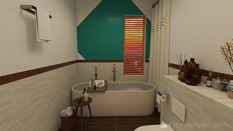 Muji Interior Design Render