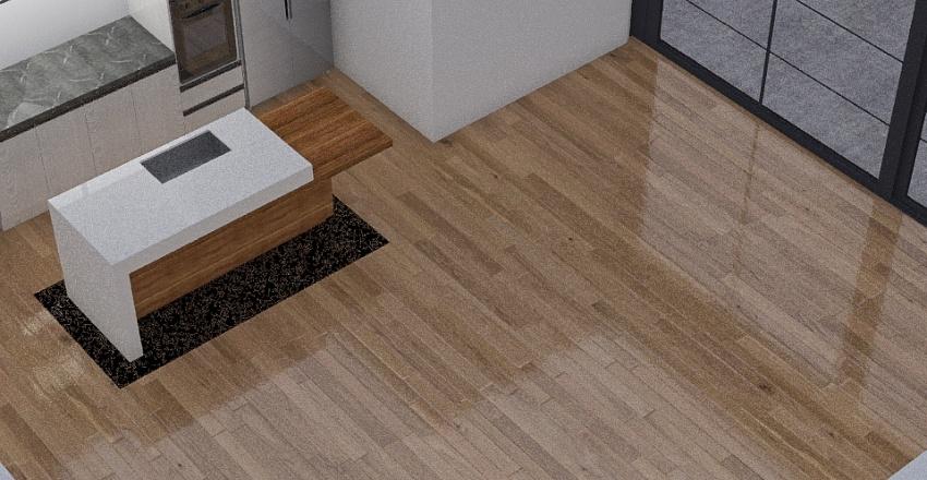 Diseño de espacios monoambiente Interior Design Render