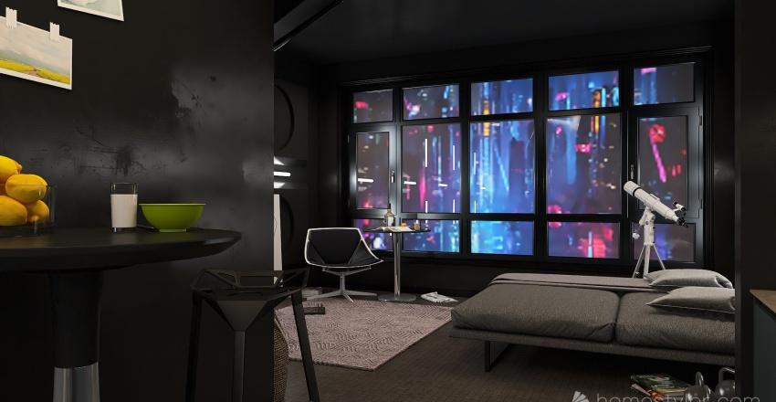 2221 Blackweb Apt. Interior Design Render
