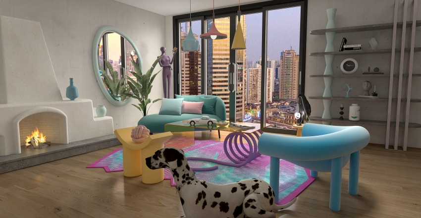 Form Interior Design Render