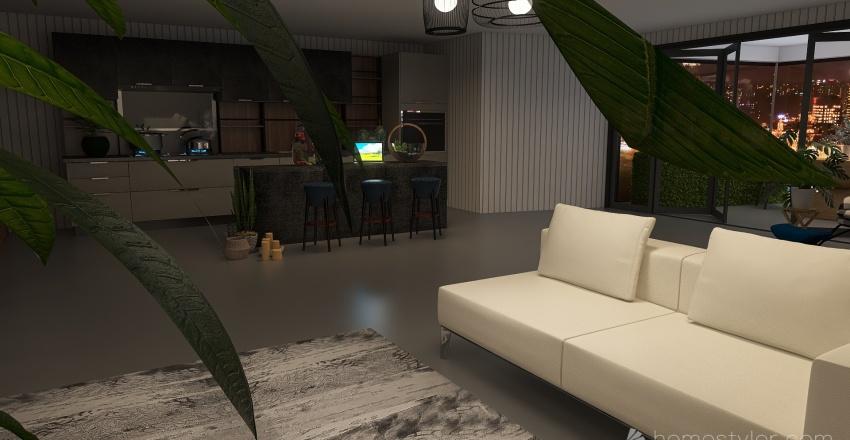 Apartman Dairesi Interior Design Render