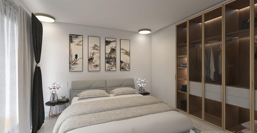 2 bhk apartment  Interior Design Render