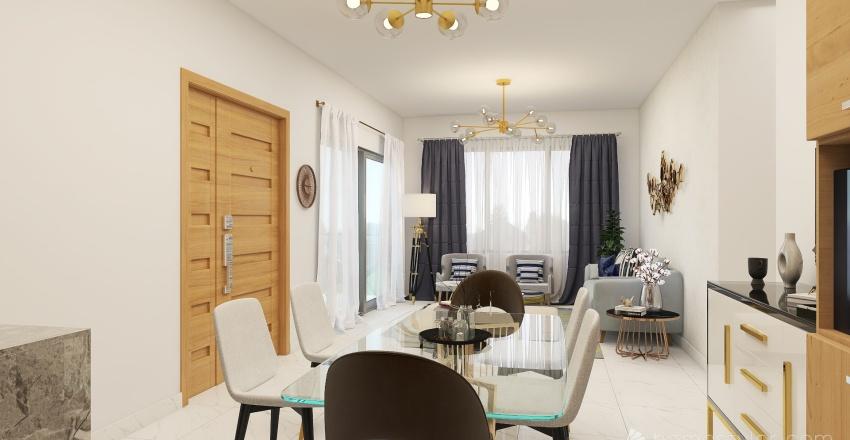 Residencial Living Lara Interior Design Render