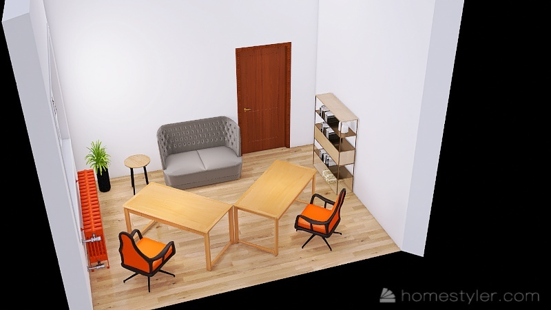 Copy of Kancelarija_copy 1 Interior Design Render