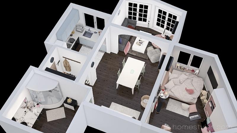 Ulsan Condo Interior Design Render