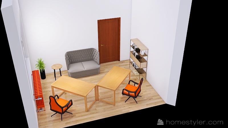 Kancelarija_copy 8 Interior Design Render