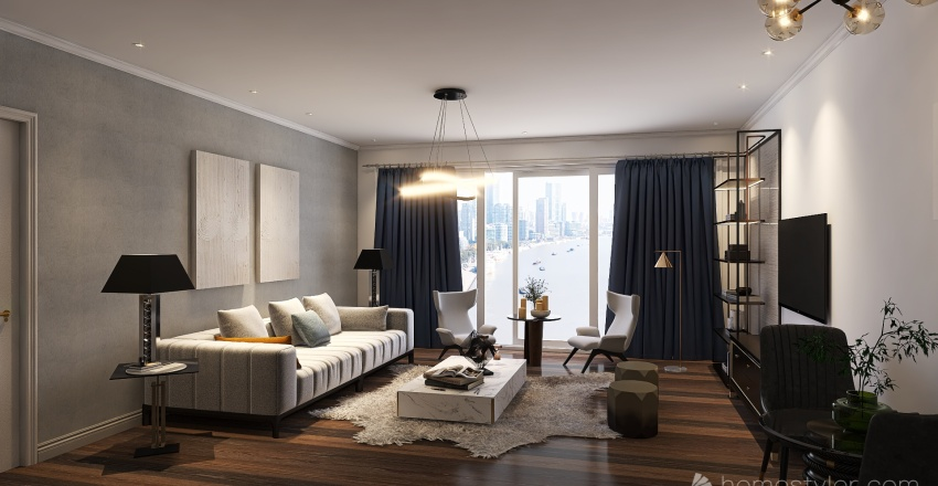 Metropolitan Interior Design Render