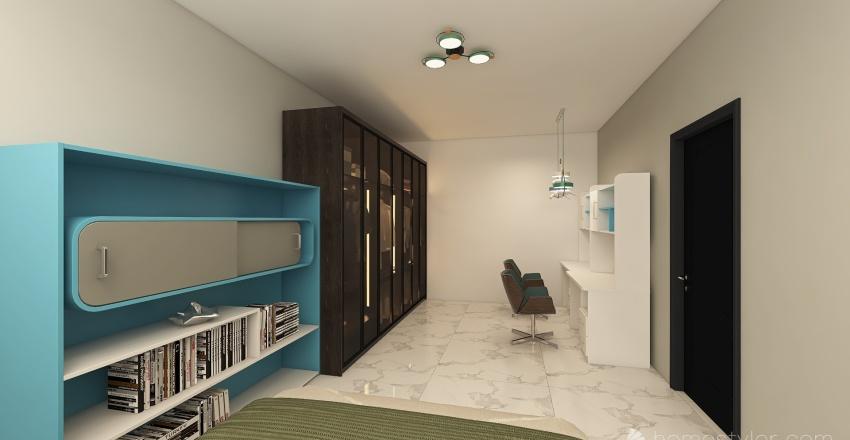House #2 Interior Design Render