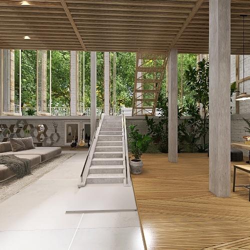House of Penwarn Interior Design Render