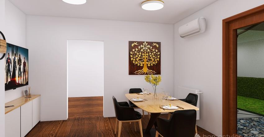 Łąkowa Interior Design Render
