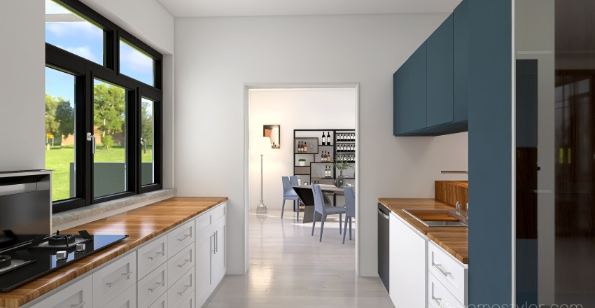 Fantasia 5 Interior Design Render