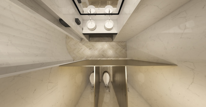 BAÑOS SANTA CLARA Interior Design Render