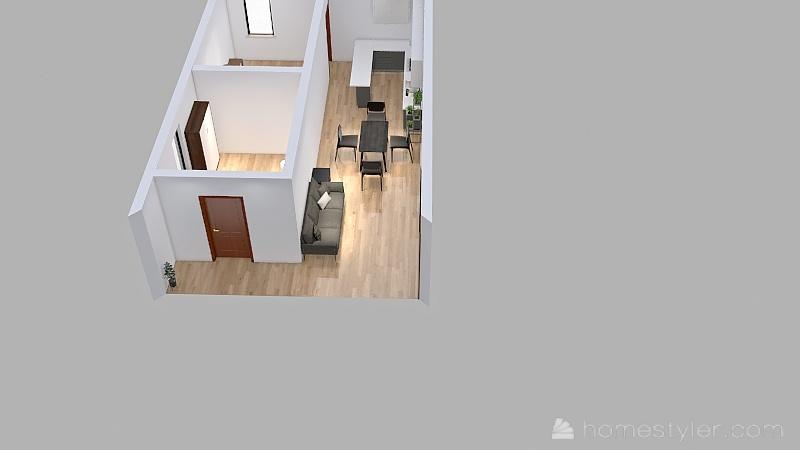 Copy of Matilde bilocale Interior Design Render