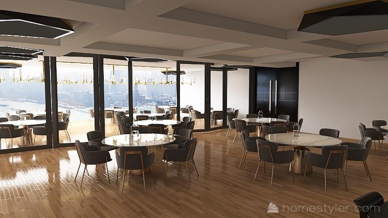 Olive and ivy Interior Design Render