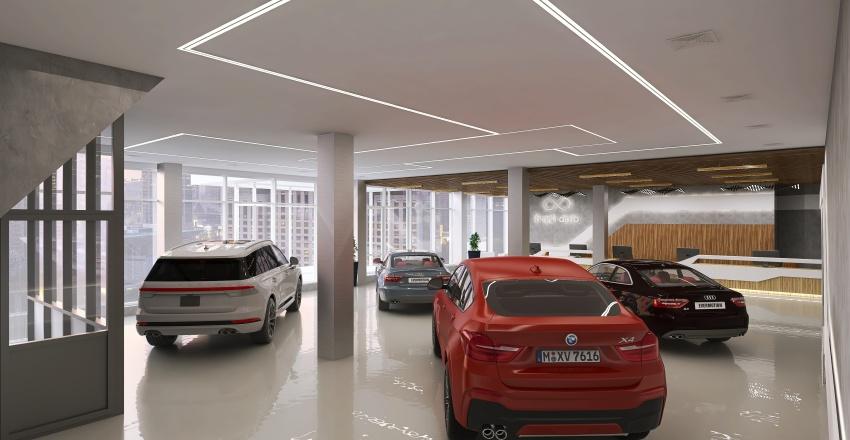 Екатеринбург (автосалон) Interior Design Render