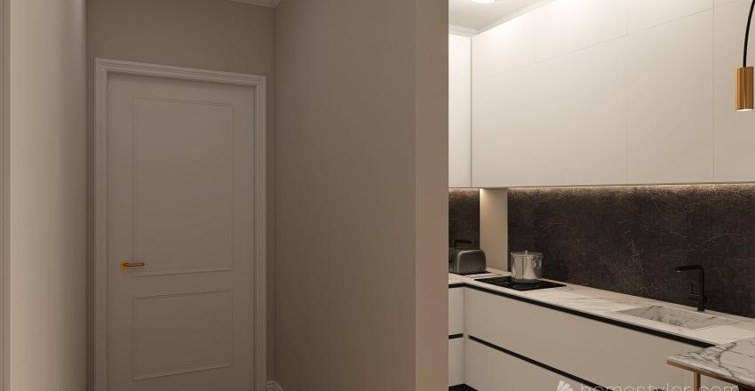 БАДЕН 3 ЭТАЖ1 Interior Design Render