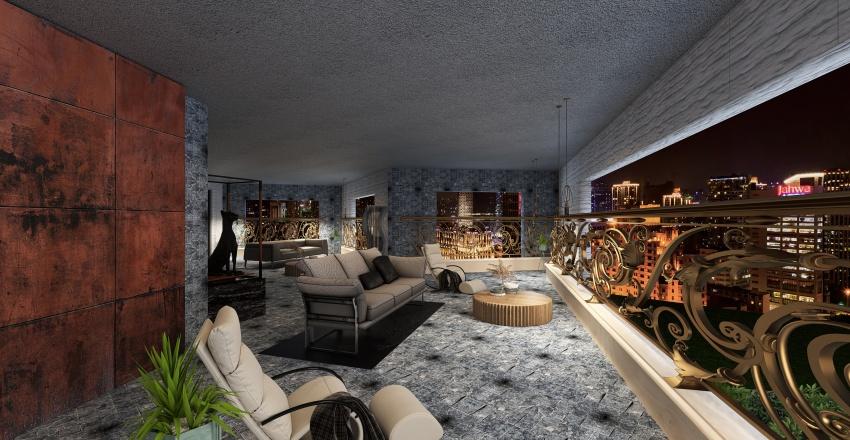 FORTUNATO GIARO CAVALLI Interior Design Render