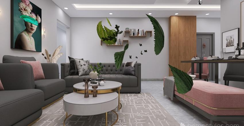 Copy of Copy of bedroom design Interior Design Render