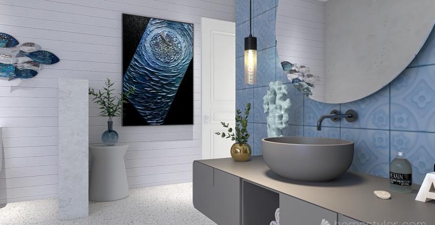 Ocean Retreat Interior Design Render