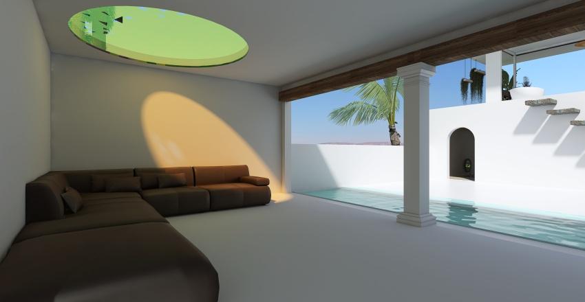 La casa de la palmera Interior Design Render