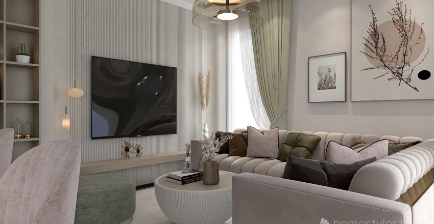 Sakura Loft Interior Design Render