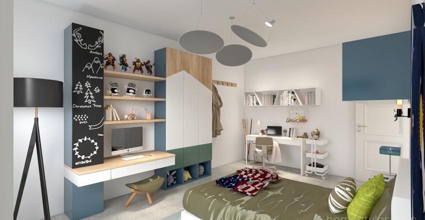 Greco_Via Portinari 2 Piano 5 Interior Design Render