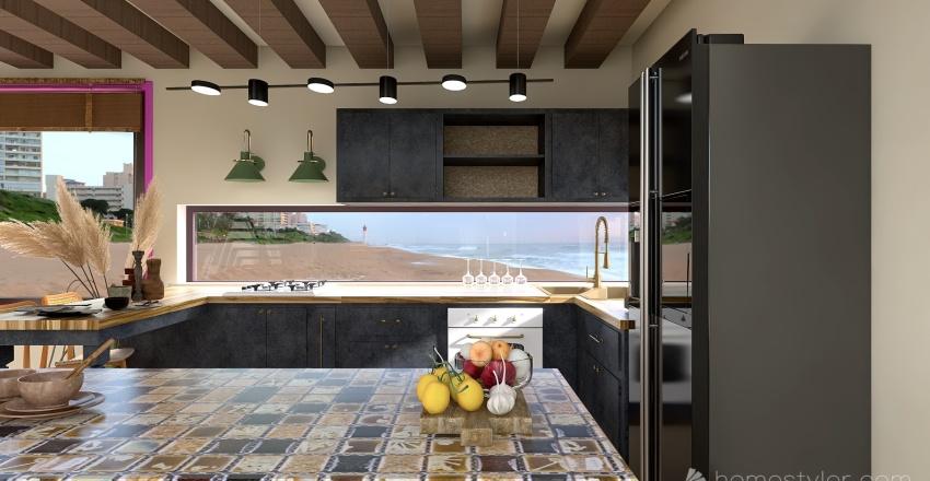 beach villa  M Interior Design Render