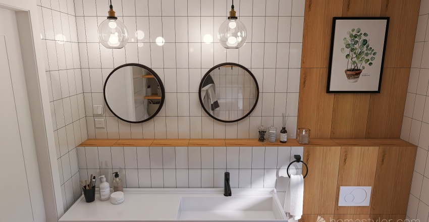 Загородный домик_1 Interior Design Render