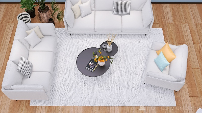 Sonia de Rodríguez casa Interior Design Render