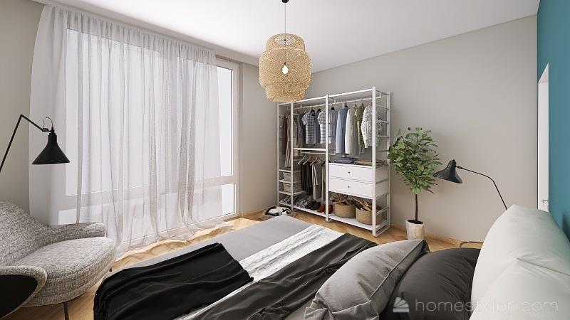 Senior Housing - Apart 1 Interior Design Render