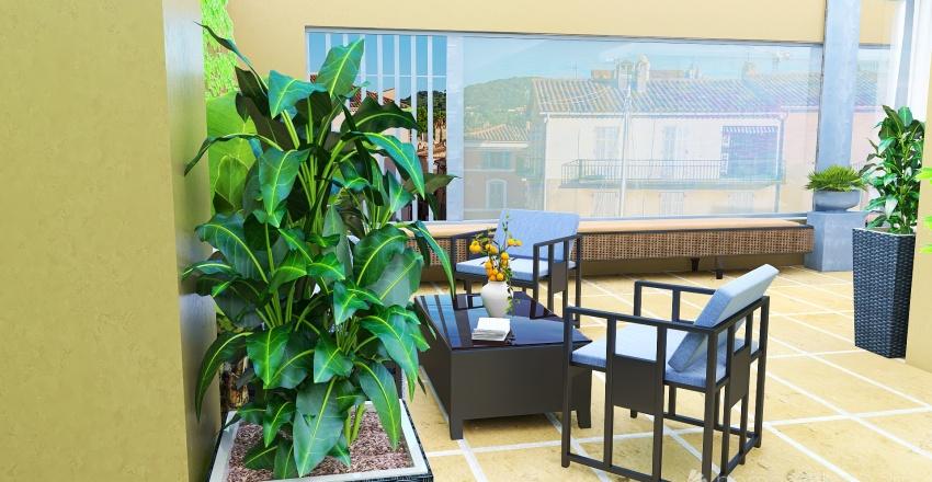 DUBROVNIK BLUES Interior Design Render