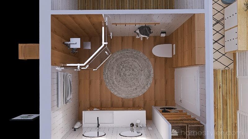 Загородный домик_3 Interior Design Render