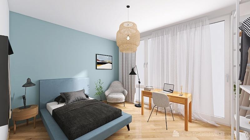 Senior Housing - Apart 2 Interior Design Render