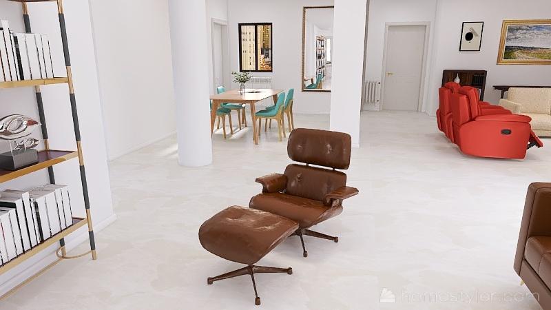 MODERNO Sin PARED MARQUES Interior Design Render
