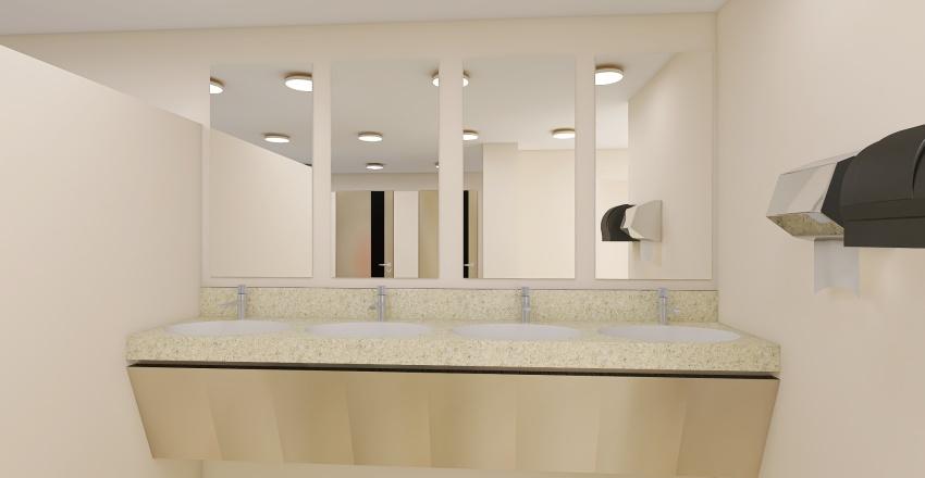 BAÑOS ORO VERDE Interior Design Render