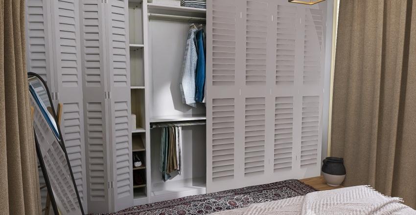 appartement blue Interior Design Render