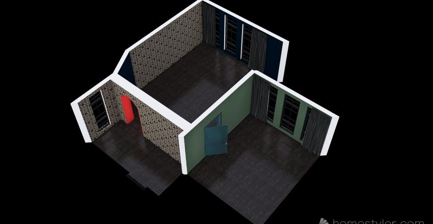 ресторан Interior Design Render