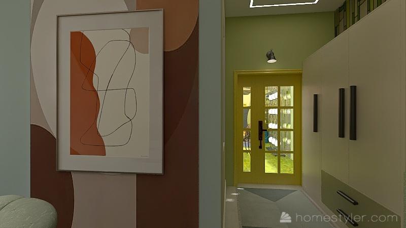 Ал Interior Design Render